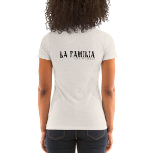 La Familia Light Colored Ladies' short sleeve t-shirt