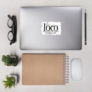 loco Bubble-free stickers