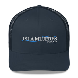 I'd Rather Be on Isla Mujeres Mexico Trucker Cap