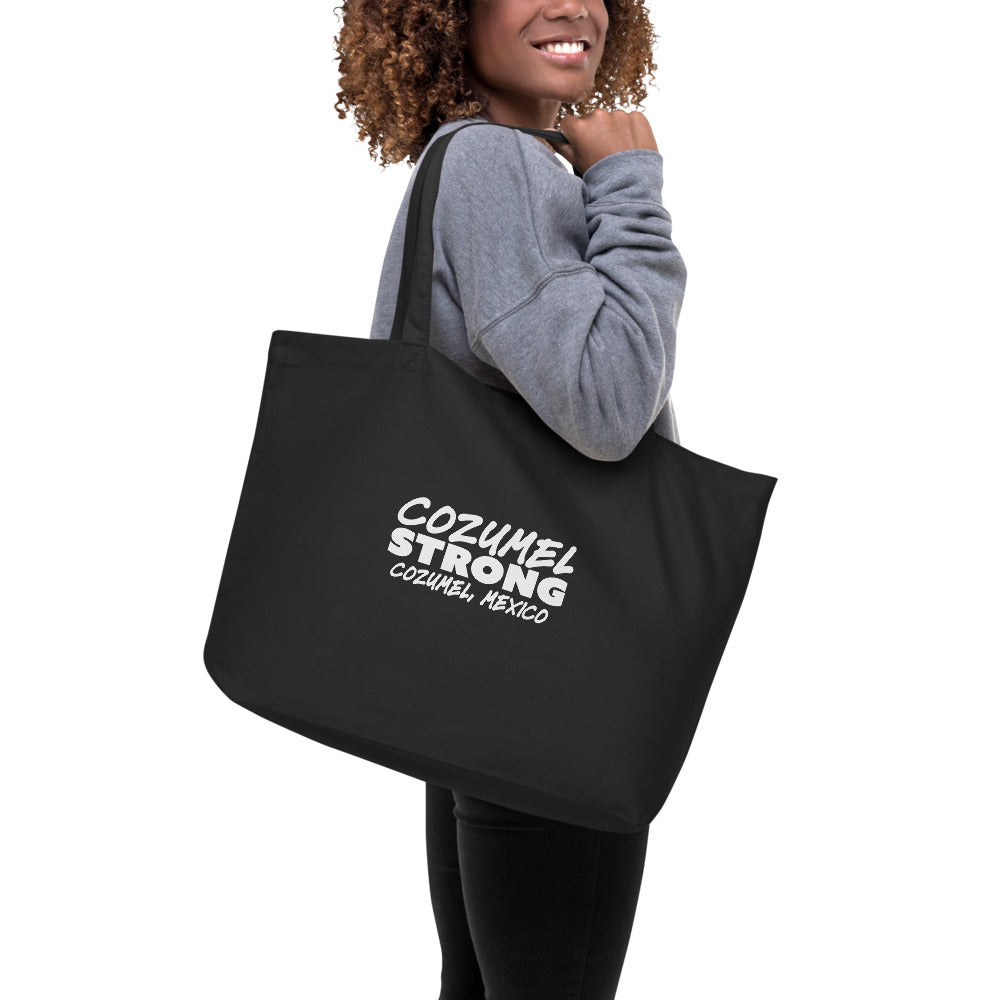 Cozumel Strong Large organic tote bag