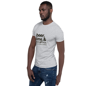 Beer Lime and Sunshine Men's light Short-Sleeve Unisex T-Shirt