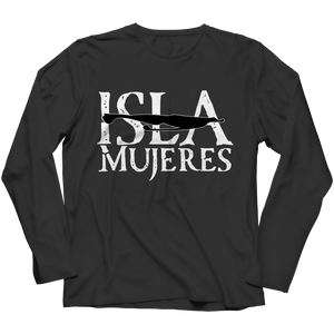 Black Long Sleeve Isla Mujeres