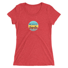 If you are going to be salty, bring the tequila Ladies' short sleeve t-shirt