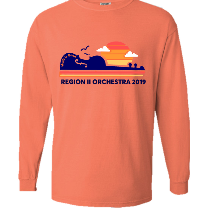 Region II Orchestra T-Shirt Long Sleeve