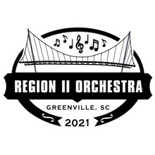 Region II Orchestra T-Shirt 2021- Heather Indigo