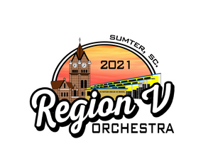 Region V Orchestra Decal Sticker
