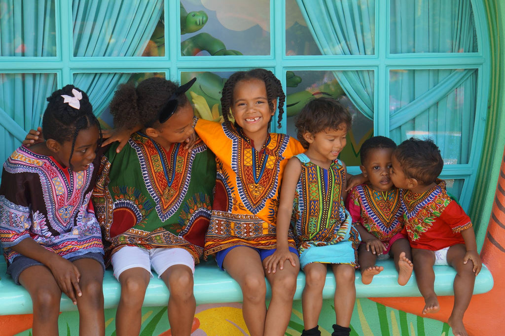 Golden Yellow Children's Dashiki