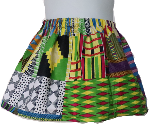 Colorful Kente Skirt