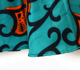 African Print Madagascar Flair Skirt