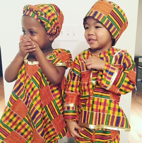 Classic Kente 3 Piece Set