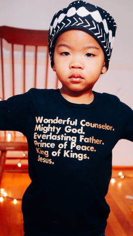 King of Kings Christian Christmas T-shirt