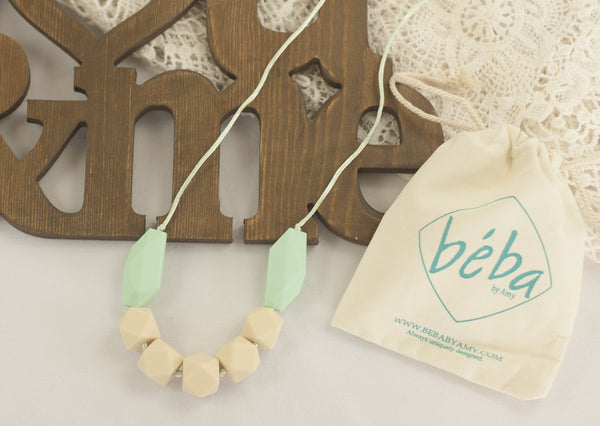 Amelia Teething Necklace - Navajo