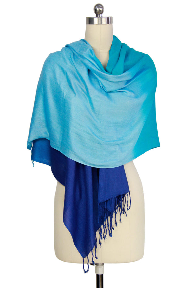 Citlali Ombre Fringed Scarf
