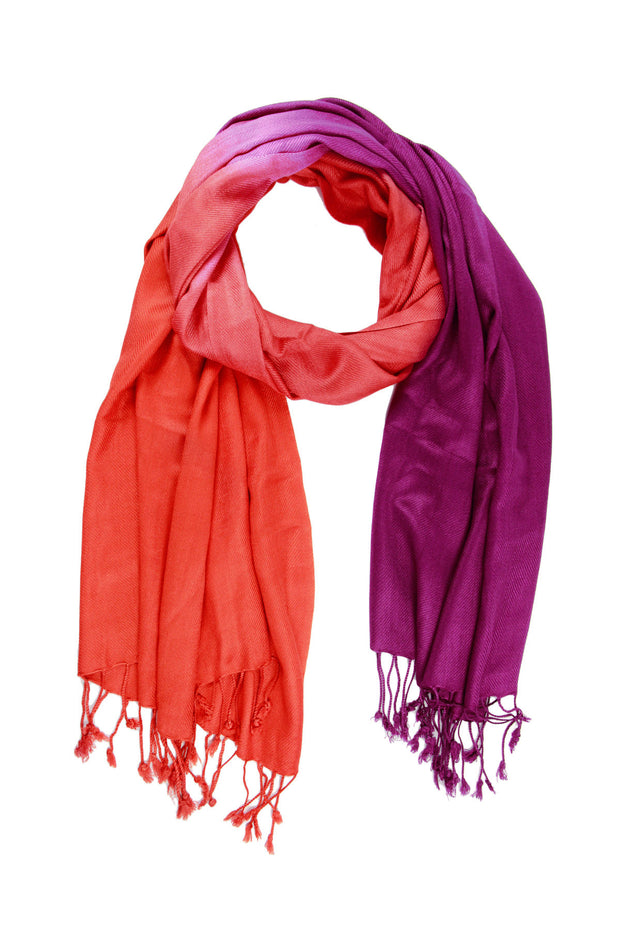 Two Toned Ombre Scarf