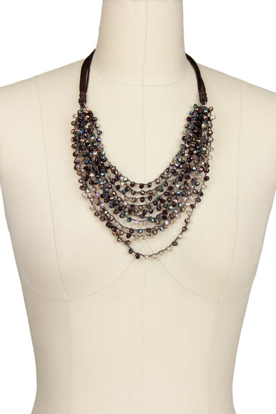 Mardi Beaded Statement Necklace