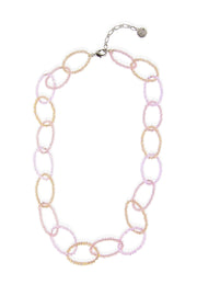 Sampark Oval Linked Collar Necklace