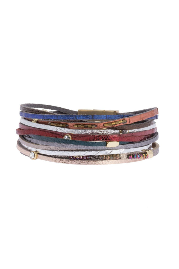 Easy Breezy Leather Bracelet