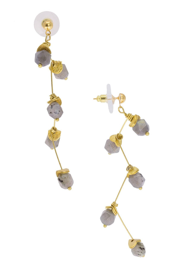 Crystal Branch Drop Earring