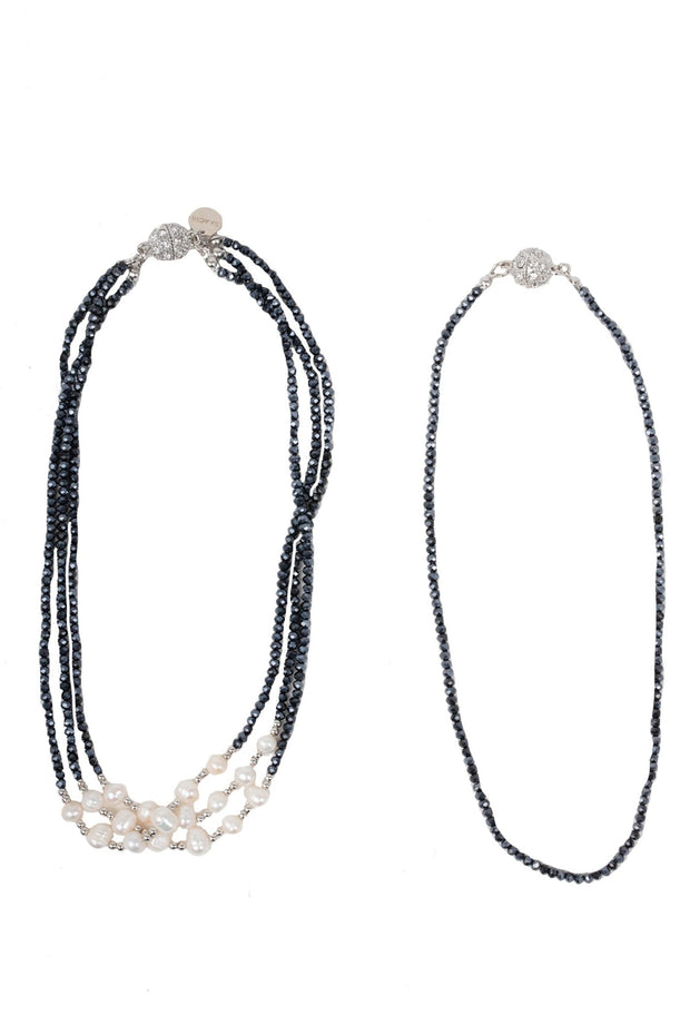 Socialite Crystal Convertible Necklace