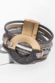 Time Travel Leather Bracelet