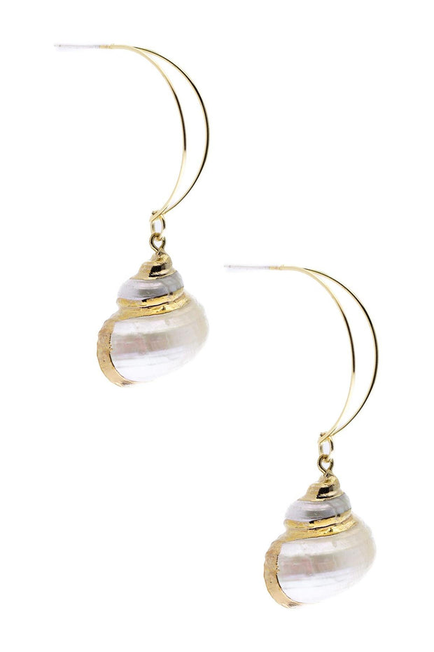 Seaside Dangle Shell Earring