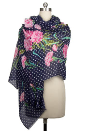Marylin Mixed Print Scarf