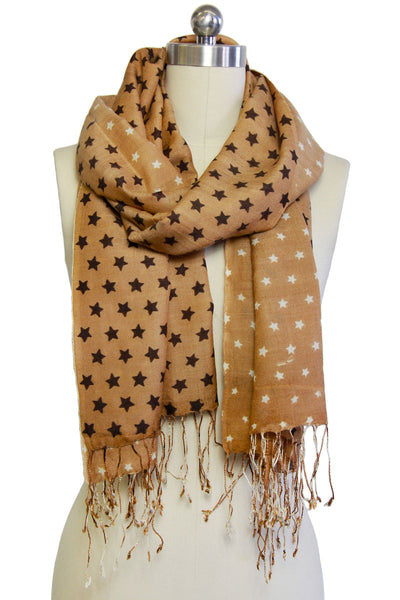 Two Tone Star Scarf