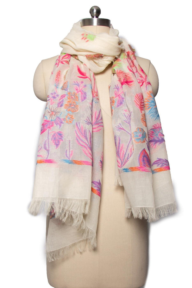 Happy Fun Times Scarf IVORY