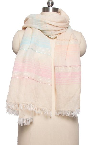 Sapana Striped Scarf