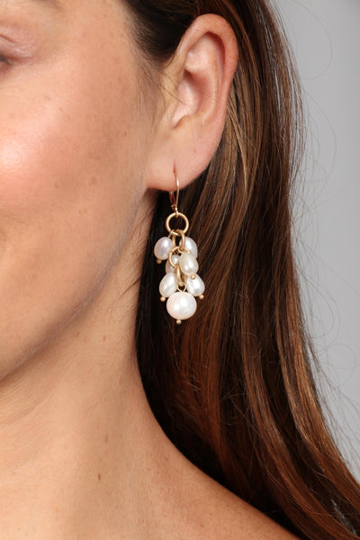 Vineyard Pearl Earring