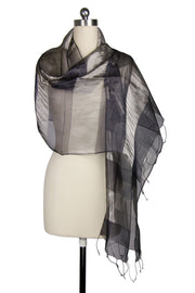 Newport Silk Scarf with Twiste