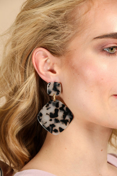 Rex Grey Earring