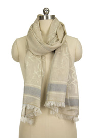 Whisper in the Wind Borderd Scarf