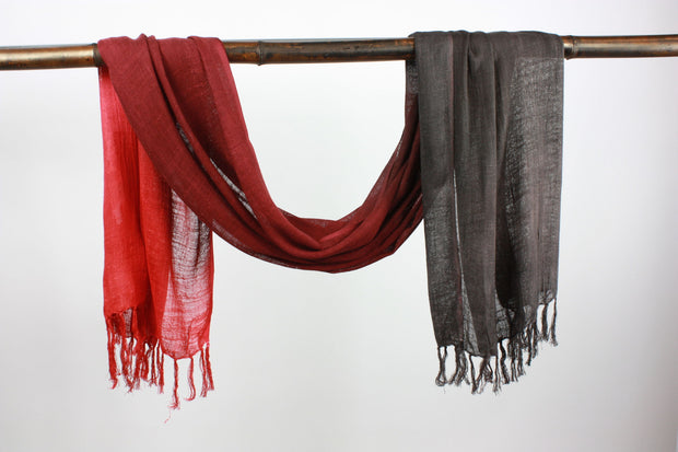 Ombre Scarf w/ two tone ST- 03