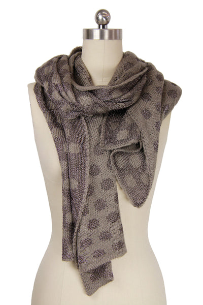 Nialey Polka Dot Scarf