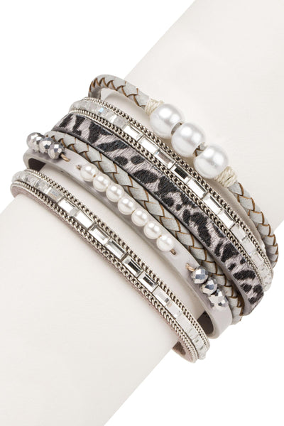 Wild About Pearls Bracelet