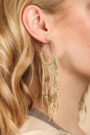 Night Out Fringed Earring
