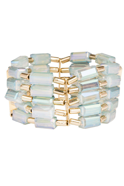 Alexandria Beaded Stretch Bracelet