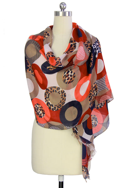Plenty of Circles Scarf