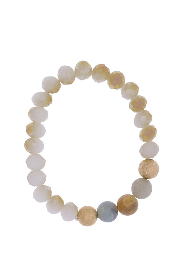 Classic Single Beaded Bracelet