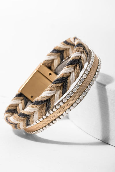 Cairo Leather Bracelet