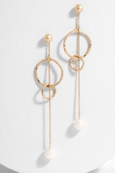Balanced Gold Earring