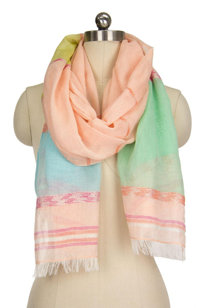 Sunshine Striped Scarf