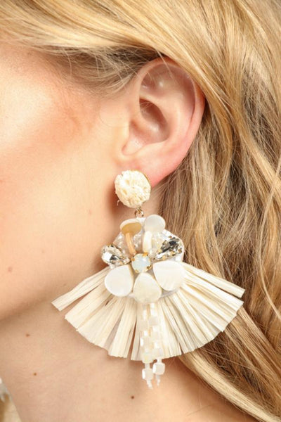 Fan Statement Earring