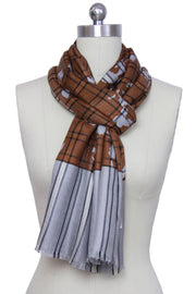 Orla Mixed Checkered Scarf