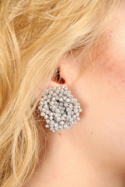 Samooh Beaded Clip-On Earring