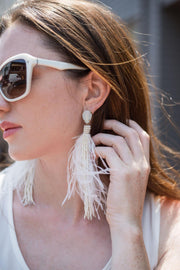 Ibis Feather Earring