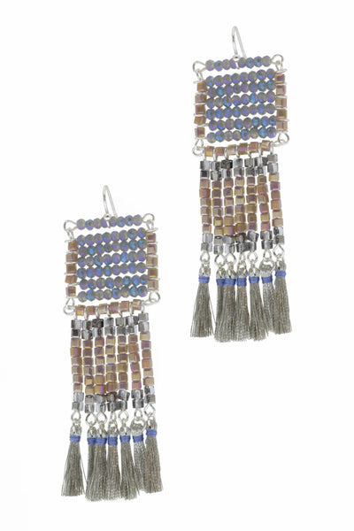 Anjuna Beaded Statement Earring