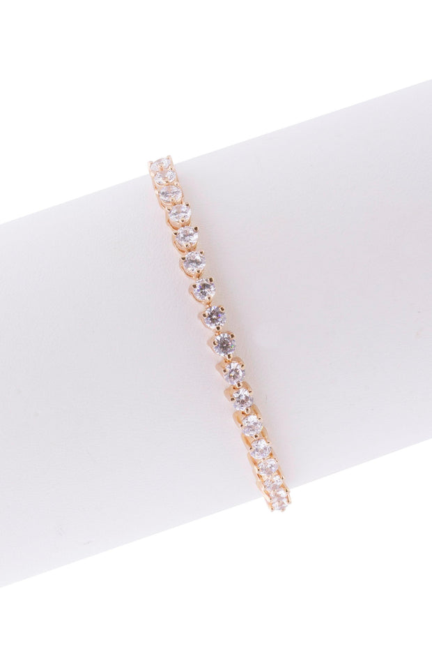 Catching Light Dainty Crystal Bracelet