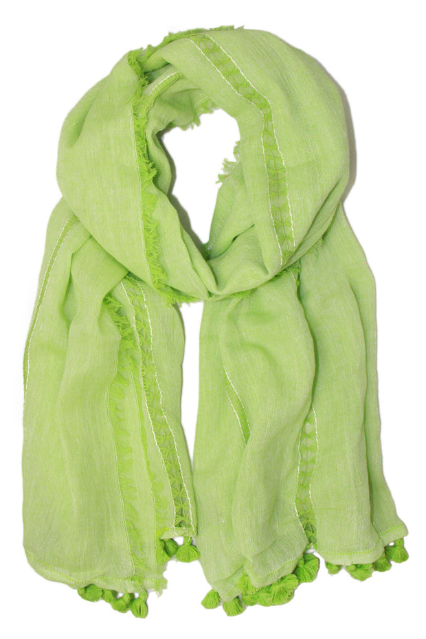 Amnesty Fringed Scarf